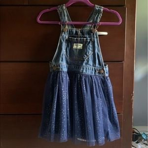 Osh Kosh toddler girls overall dress